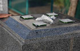 お墓の耐震対策・地盤改良
