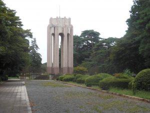 多磨霊園名誉霊域の参道